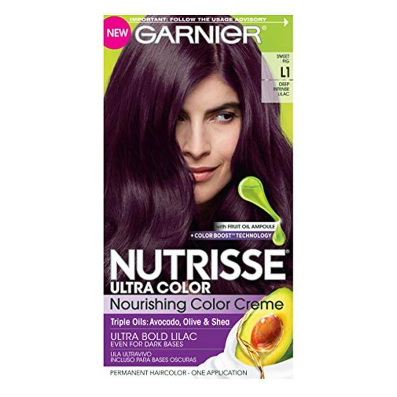 Garnier Nutrisse Hair Color 61 Light Ash Brown Mochaccino Review