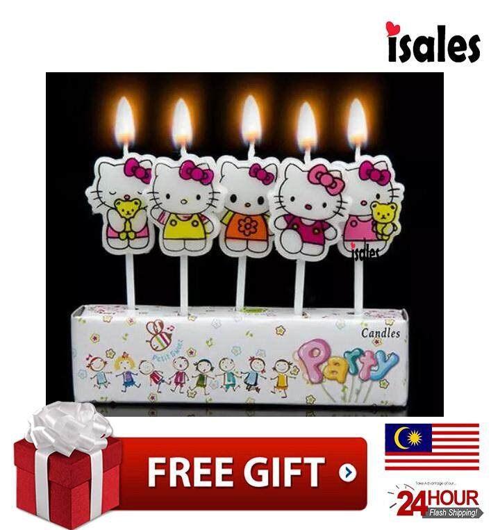 HAPPY BIRTHDAY CANDLES FUN Cake Decorations Toppers Birthday Decorating Novelty Party Colourful Letter By Works