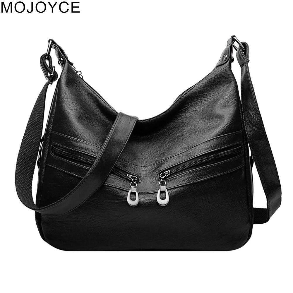 Sale Mojoyce Women Lady Hobos Handbag Zipper Pu Leather Tote Bag Shoulder Bag Intl Mojoyce Wholesaler