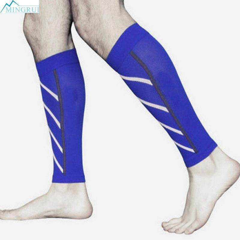 Hình ảnh Pair Calf Support Compression Leg Sleeve Sports Socks Outdoor Exercise