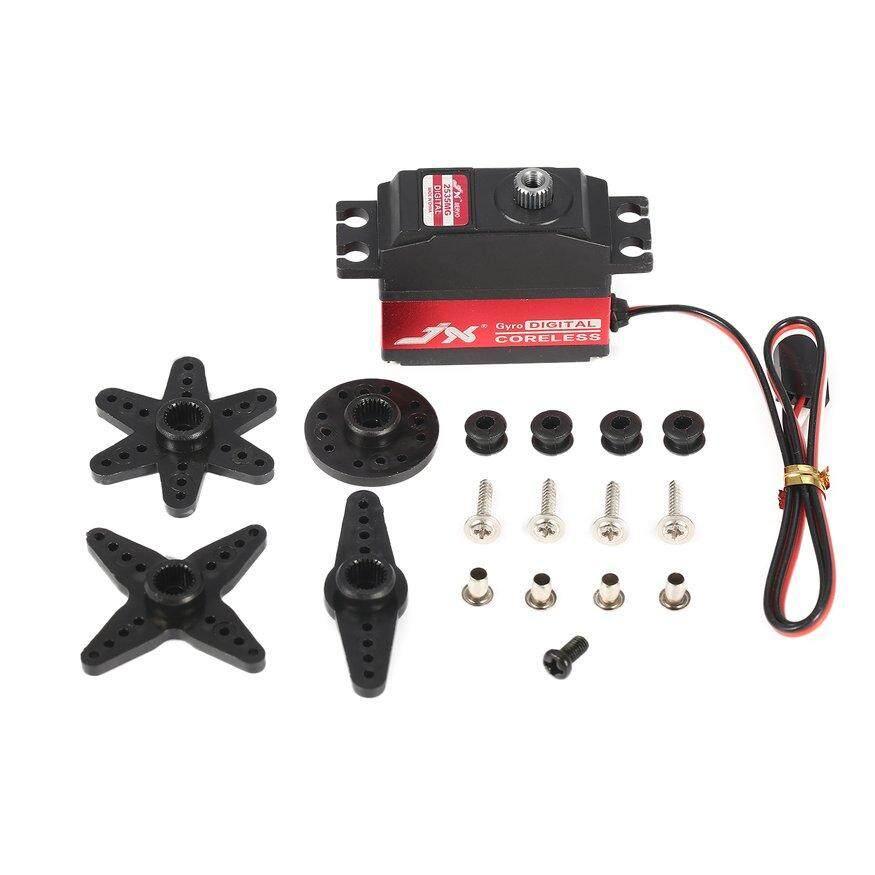 UINN JX PDI-2535MG 25g Digital  Metal Gear Coreless Gyro Tail Servo for RC Airplane Red & Black