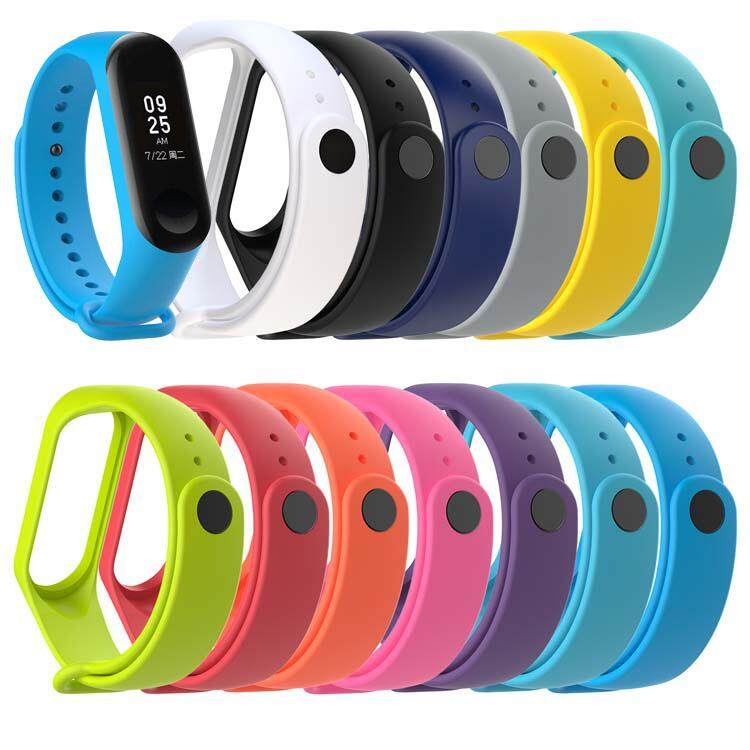 Xiaomi Mi Band 3 Strap With Silicone Replacement Smart Wristband Colorful M3 MiBand 3 Miband3 Strap