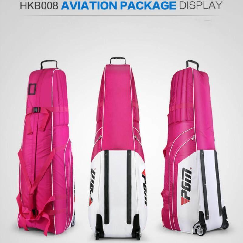 PGM Golf Aviation Bag Golf Travel Bag Cover Thicken Foldable Golf Bag With  Wheels - intl Singapore ff6df0f2df