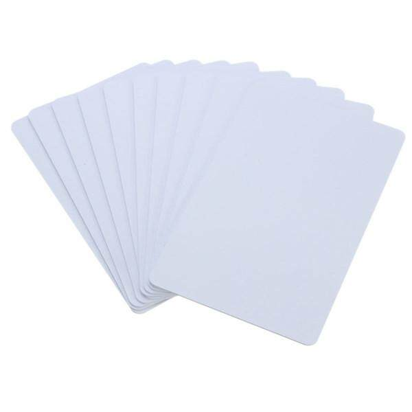 10pieces NTAG215 Chip Card NFC Forum Type 2 Tag for Amiibo NFC NTAG215 Card White - intl