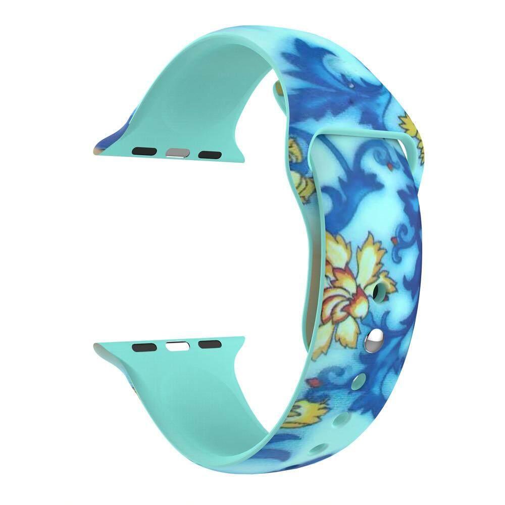 ... Fashion Penggantian Gelang Silikon Tali Band untuk Apple Watch 42 Mm - 5