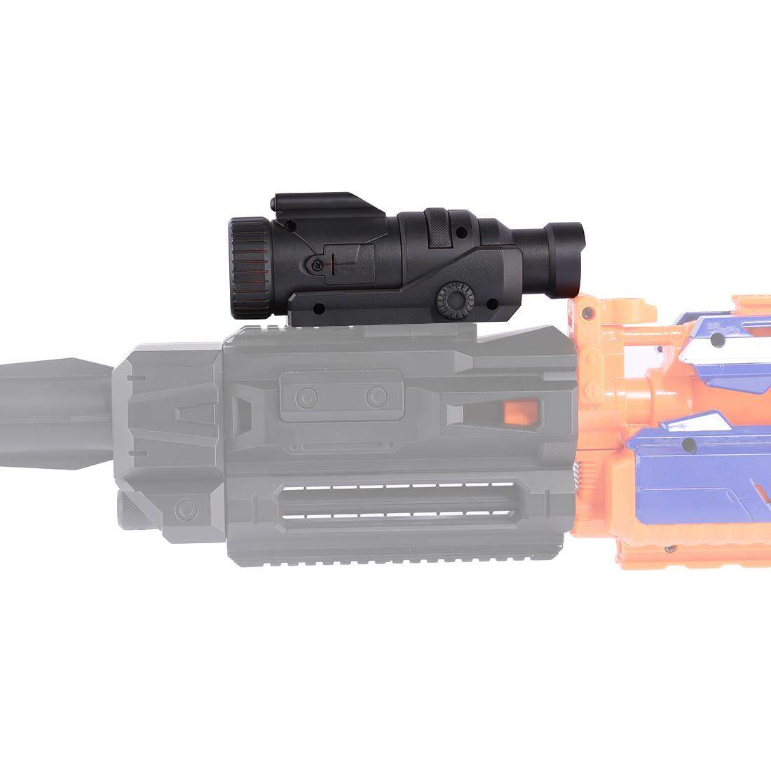 360WISH Modified Part Tactical Flashlight for Nerf Elite Series - Black - 2 ...
