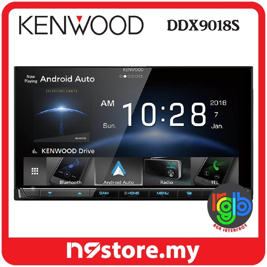 """Kenwood DDX9018S 6.8"""" HD Display Wifi Apple Carplay Android Auto DVD Double Din"""