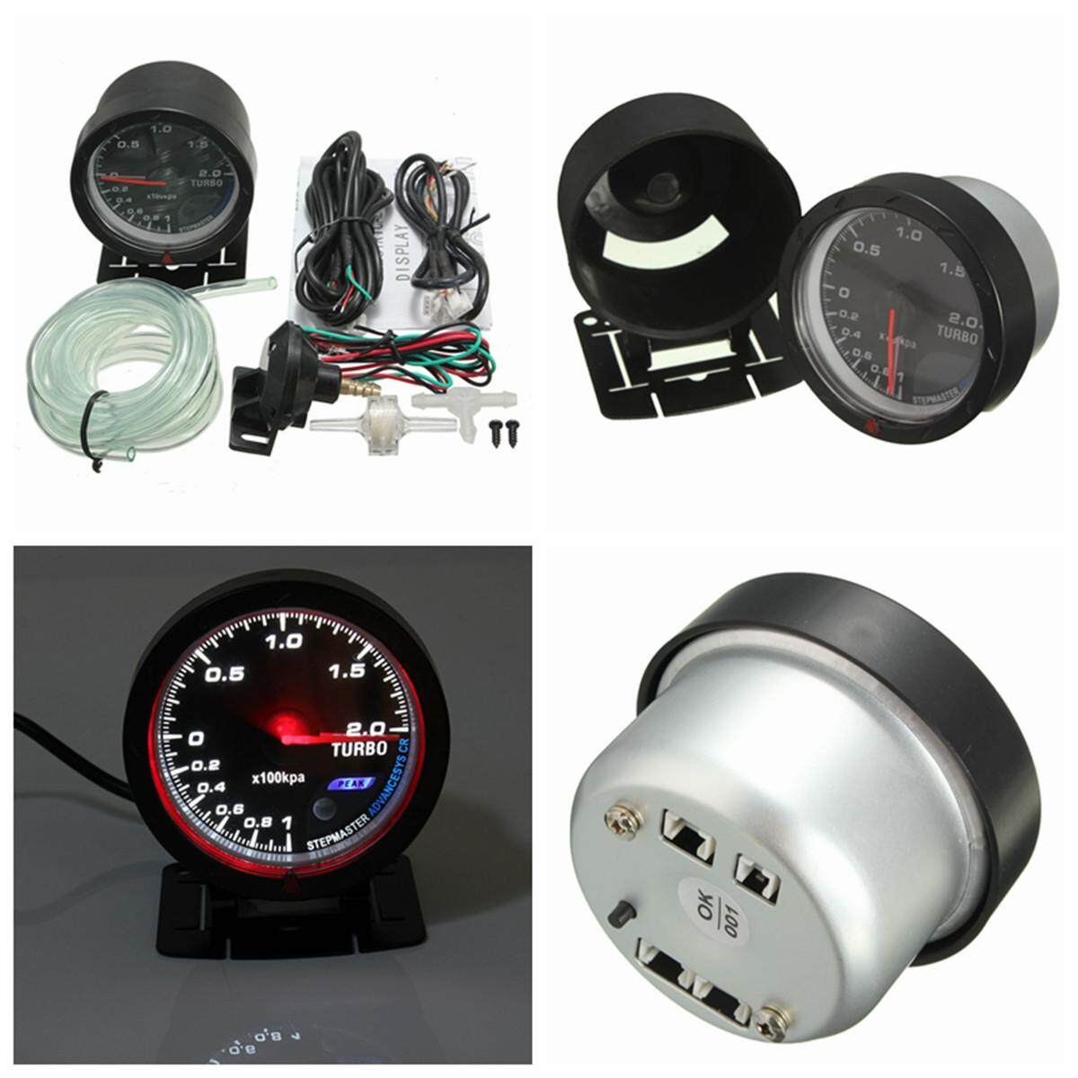 Gauges Buy At Best Price In Malaysia Blox Racingr Rpm Tachometer Gauge Replacement Wiring Harness Dc 12v Turbo Boost Meter Black 60mm
