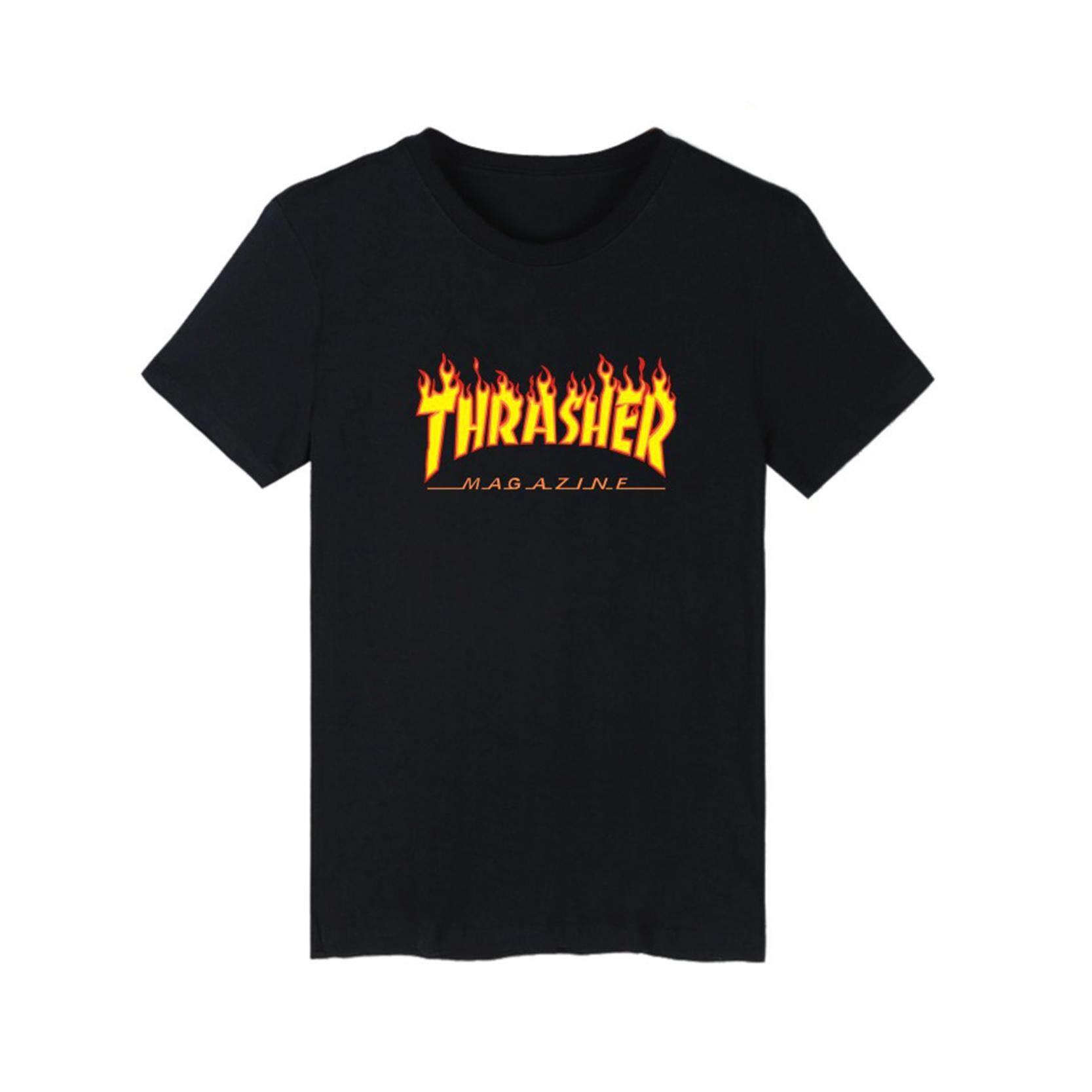 Jiayiqi Hot Sale Casual Short Sleeve O-neck T-Shirt Men Black