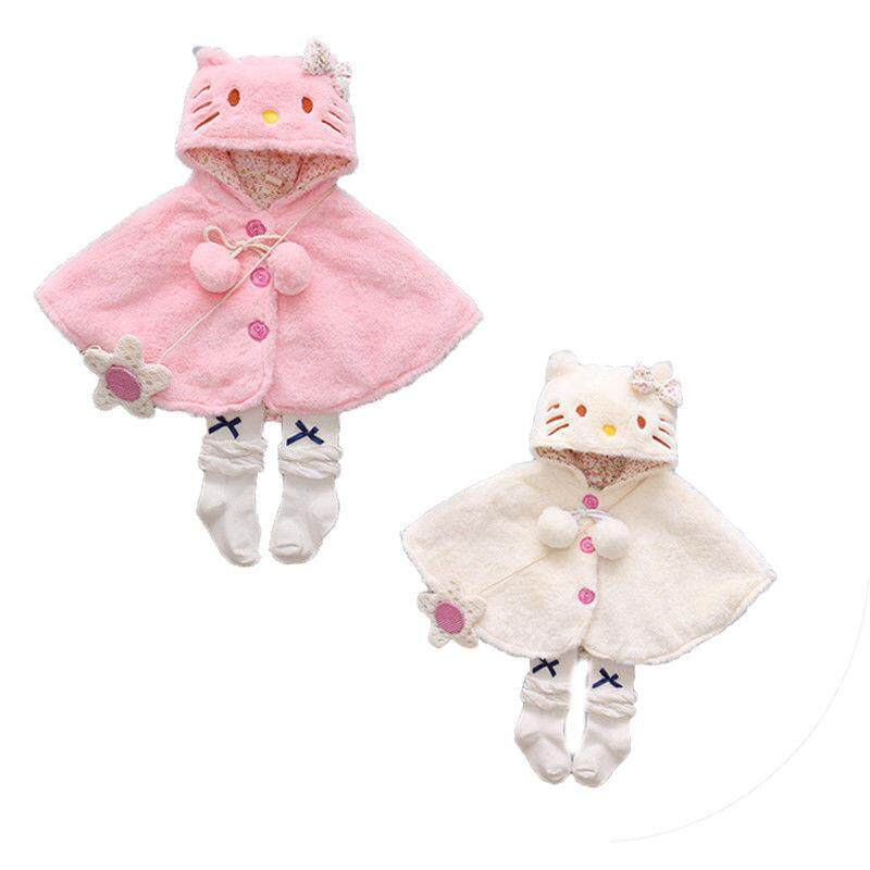 Lovely Baby Girls Clothing Outfits Coats Hooded Cloak Jacket Outwear Cute Animals Kids Warm Coat Clothes By Lg566.