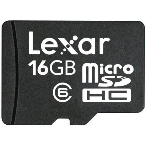 Lexar MicroSDHC 16 GB Ponsel Flash Kartu LSDMI16GASBNAC6-Intl