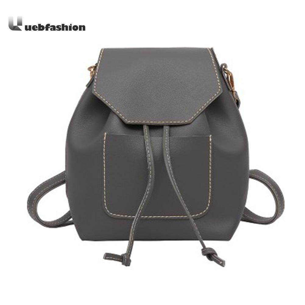 ff923ad17395 Fashion Women Backpack Casual Brand Design Backpack PU Leather Backpacks  Style Shoulder Bag CrossbodyBag Softback Sac