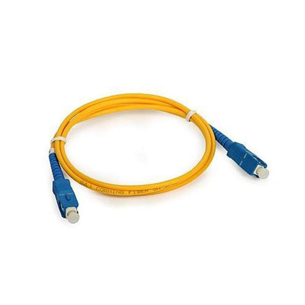 SC-SC Single Mode Simplex Fiber Optic Unifi Modem Time FTTH Cable 3 meter (S079)