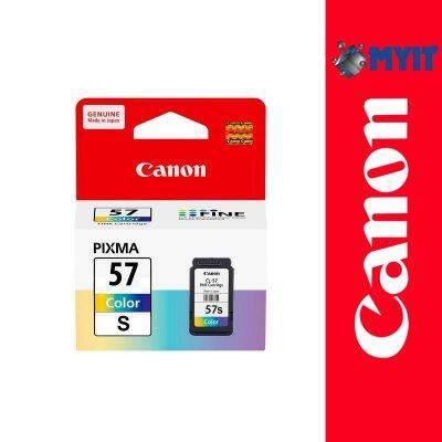 Canon Original CL-57s Color Ink Cartridge 8.7ml for PIXMA E3170 E3177 E410 E417 E470 E477 CL-57 CL57
