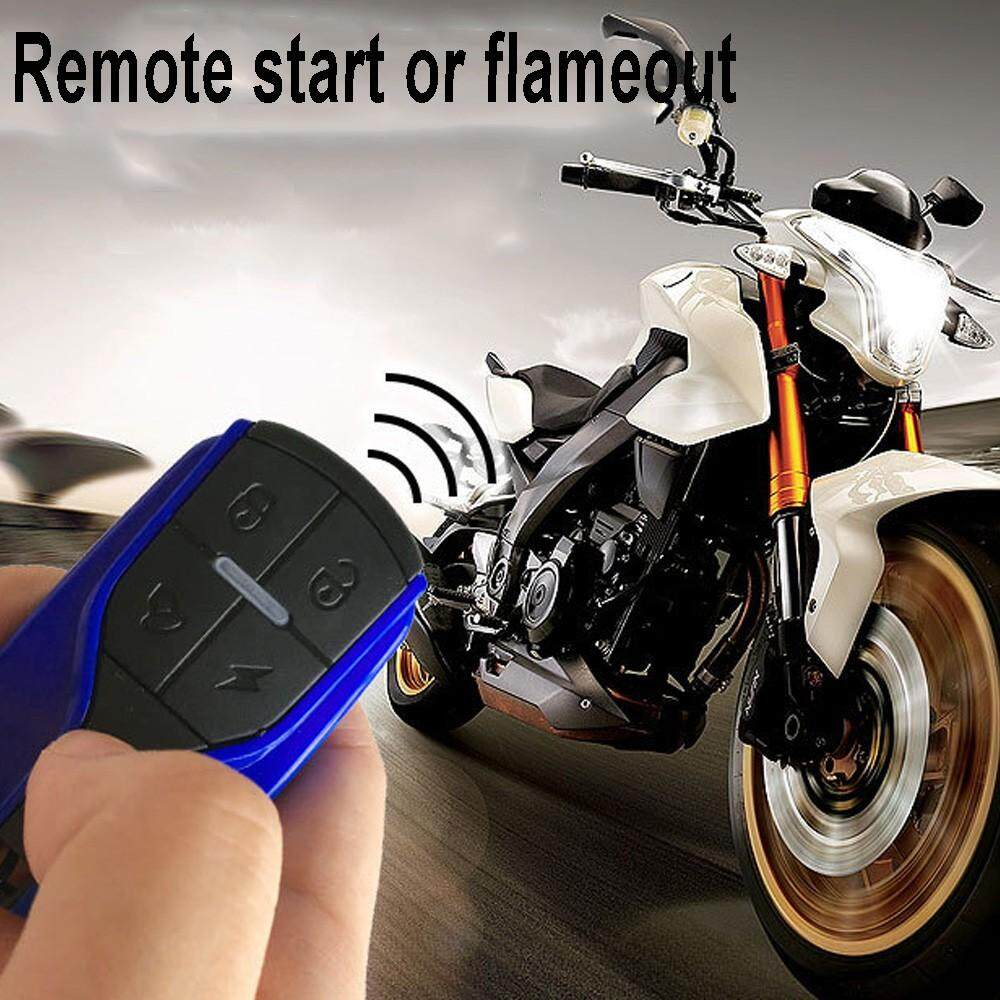 Universal Motorcycle Bike Alarm System, Motorbike Scooter Anti-theft Security System With Remote Control
