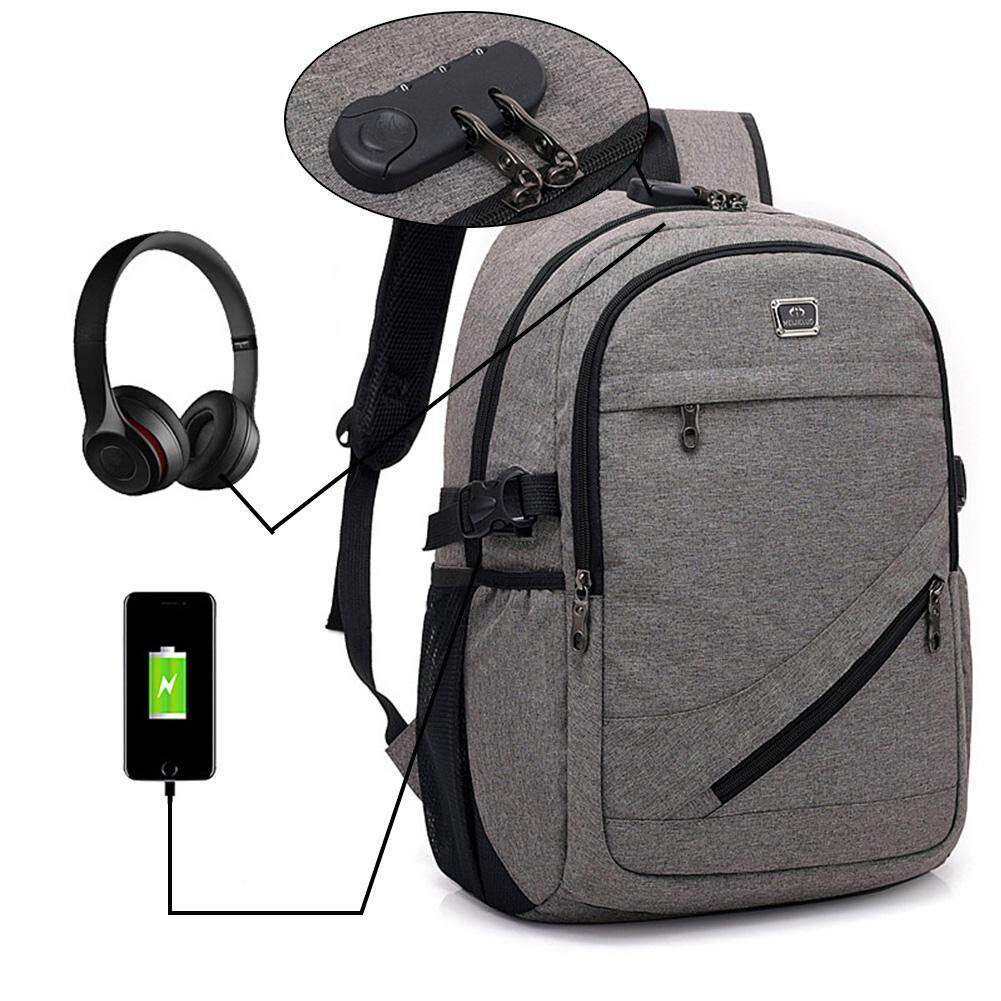 Ltplaza Business Anti Theft Backpacks With Usb Charging Port And Headphone Port, Computer Rucksack By Ltplaza.