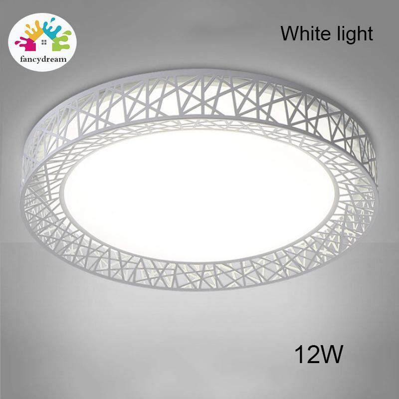 fancydream LED Ceiling Light Bird Nest Round Lamp Modern Fixtures For Living Room Bedroom Kitchen Singapore