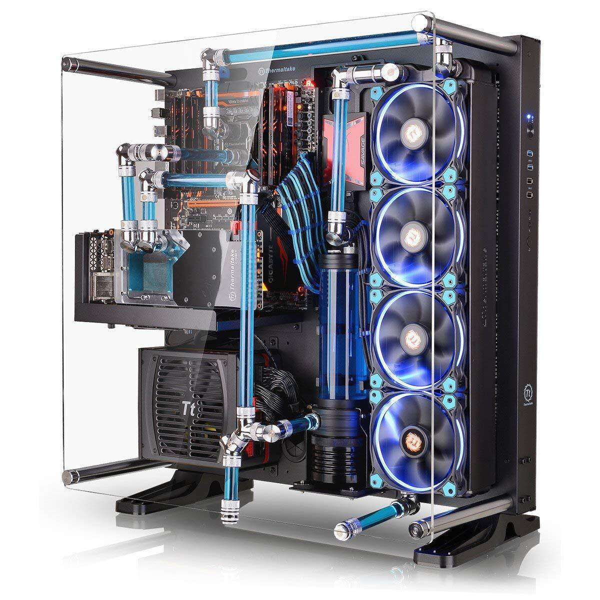 Thermaltake Core P5 Black Edition ATX Open Frame Panoramic Viewing Gaming PC Computer Case (1x PCI-E Riser Included) Malaysia