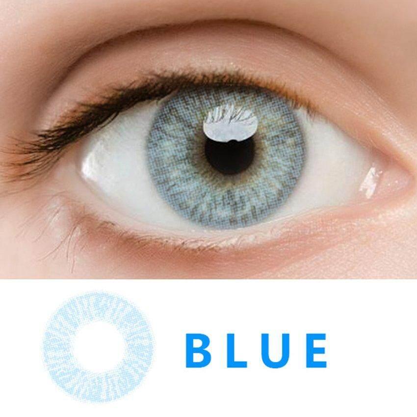 2pcs/set Fashionable Circle Big Eye Beauty Cosmetic Coloured Contact Lenses By Legendseller.