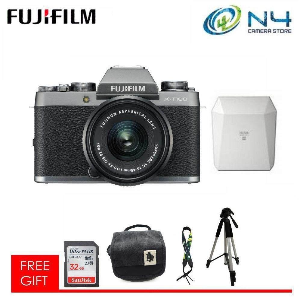 Fitur Fujifilm X A5 Kit 15 45 Mm Mirrorless Xa5 Resmi A3 16 50mm F35 56 Ois Ii Brown T100 Xt100 Free Instax Sp3 32gb