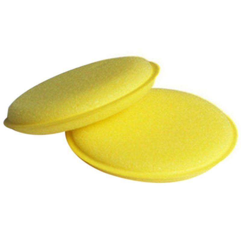 Two Waxing Polish Wax Foam Sponge Applicator Pads For Clean Cars Vehicle Glass By Yomichew.