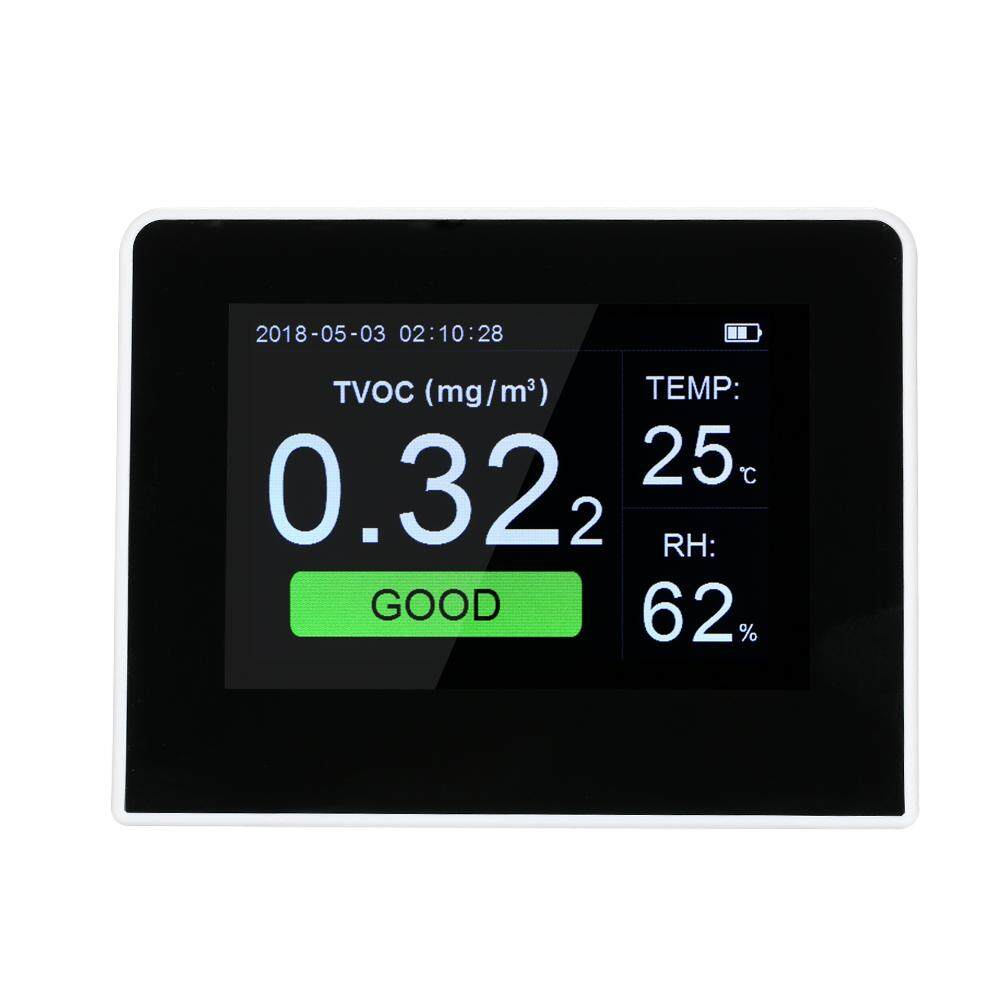 Portable Air Quality Detector Indoor/outdoor Digital Pm2.5 Formaldehyde Gas Monitor Lcd Hcho & Tvoc Tester Instrument Meter Air Analyzers K6-B By Tdigitals.