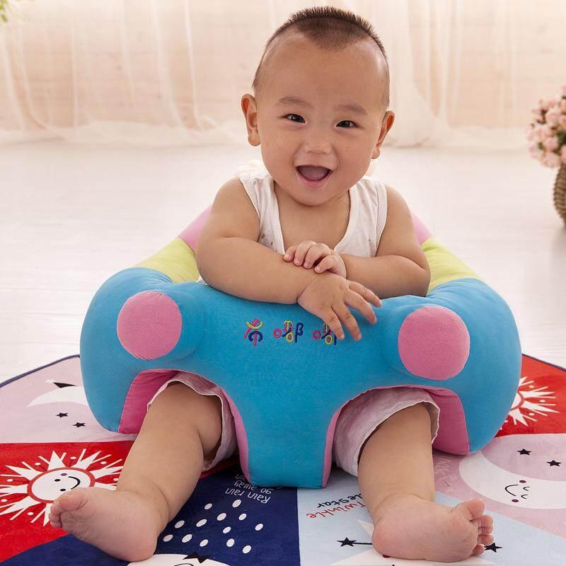 Bayi Lucu Penopang Kursi Kursi Lembut Sofa Bantal untuk 0-2 Tahun Boneka Mewah (L Adalah untuk 9-13Kg bayi) -Intl