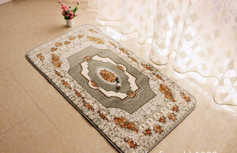 Oscar Store Practical High-quality Hot Sell European Style Home Carpet Table Bedside Floor Mat Anti Slip Living Room 0.8x1.5m