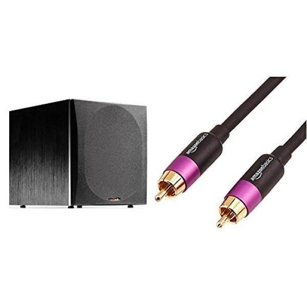 การใช้งาน  อำนาจเจริญ Polk Audio PSW505 12-Inch Powered Subwoofer (Single  Black) & AmazonBasics Subwoofer Cable - 15 Feet