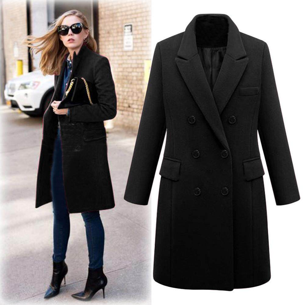 Coats For Women Sale Womens Coat Jacket Online Brands Prices Jaket Parka Cewek Best Seller Winter Lapel Wool Trench Long Overcoat Outwear