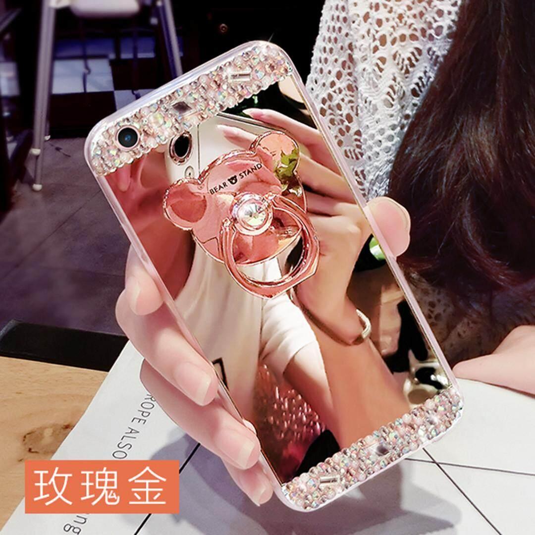 Untuk Xiaomi Redmi 6A Mewah Berlian Buatan Mahal Transparan Lembut TPU Case Cover