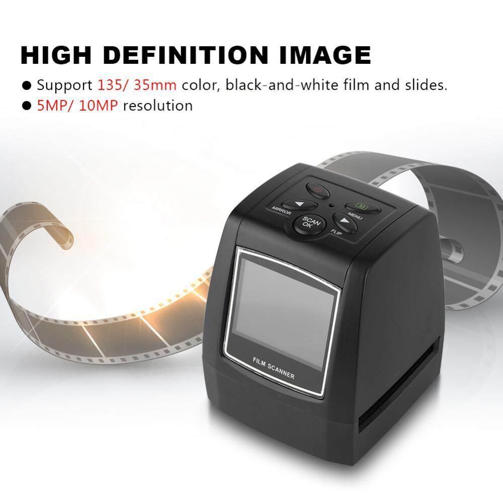 2.36 ''TFT Layar LCD 5MP/10MP USB 135/35 Mm Negatif Pemindai Film Mendukung SD MMC CARD-Intl