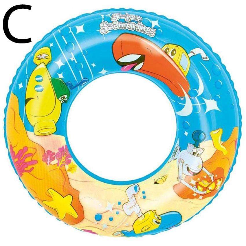 "Bestway 36013 56cm 22"" Designer Swim Ring Kids Children's Animal Design Swimming New"