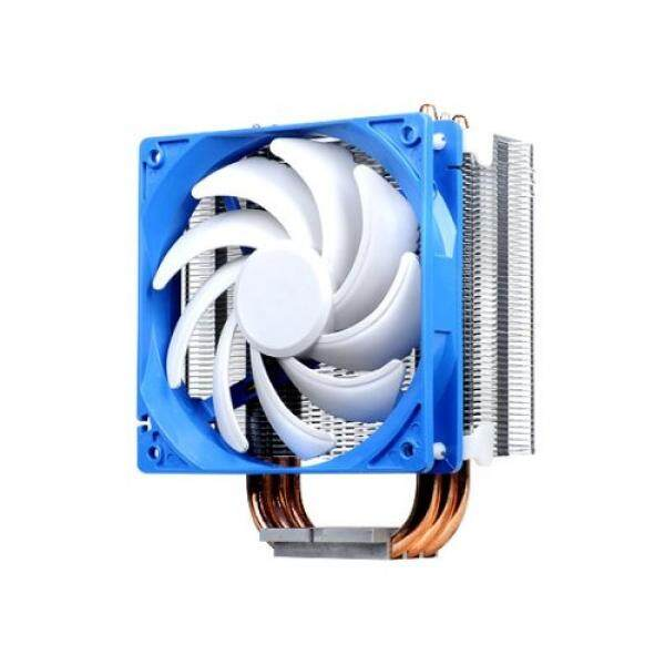 Silverstone Tek Argon Seri CPU Cooler dengan 120 Mm Kipas Angin Pendingin untuk Socket LGA775/1155/1156/1366/2011, AM2/AM3/FM1/FM2 Putih AR01-Intl