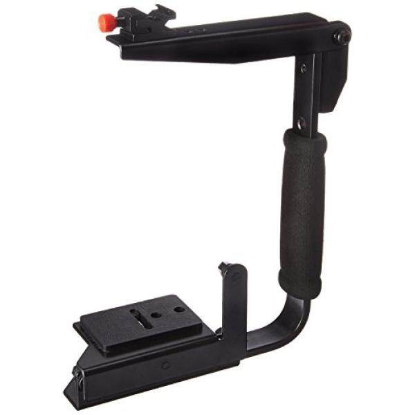 CowboyStudio Multi-Angle Quick Flip Off Camera Flash Bracket for Canon, Nikon, Olympus, Samsung, Sony and Fuji (LH01 bracket)