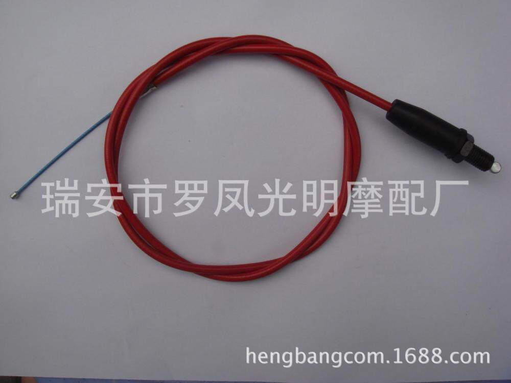 110cm Straight Head Motorcycle Throttle Cable Oil Hose Pipe Tube for Pit Dirt Motor Trail Bike