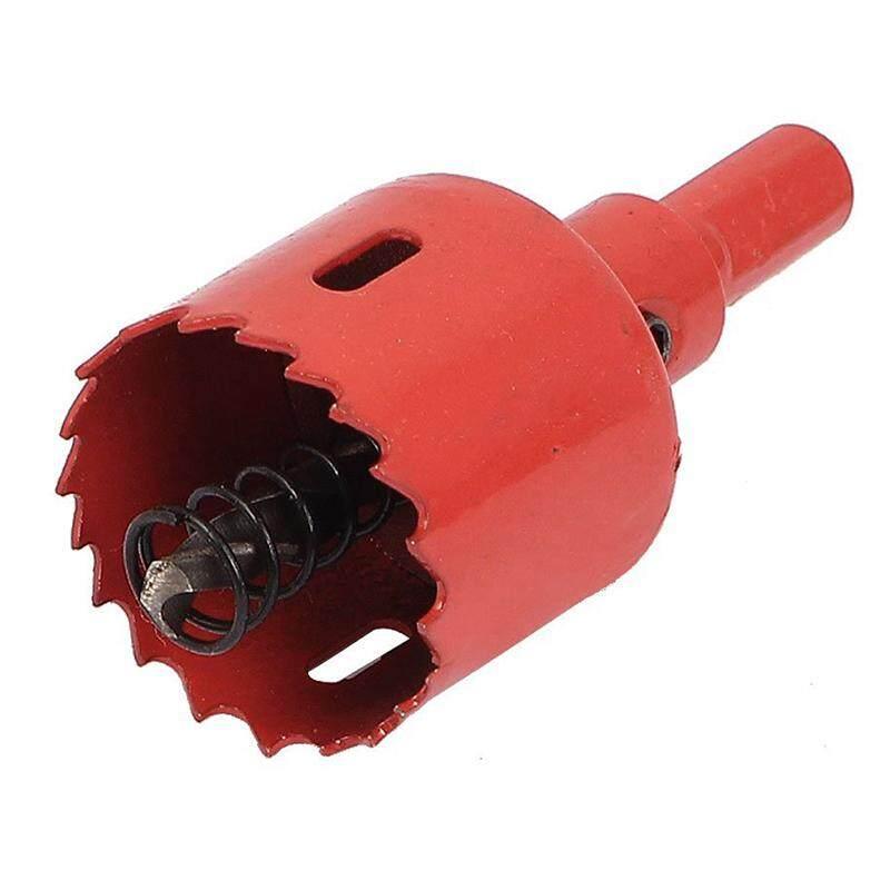 Iron Wood Cutting Triple-cornered Shank Bimetal Hole Saw Drill Bit 35mm