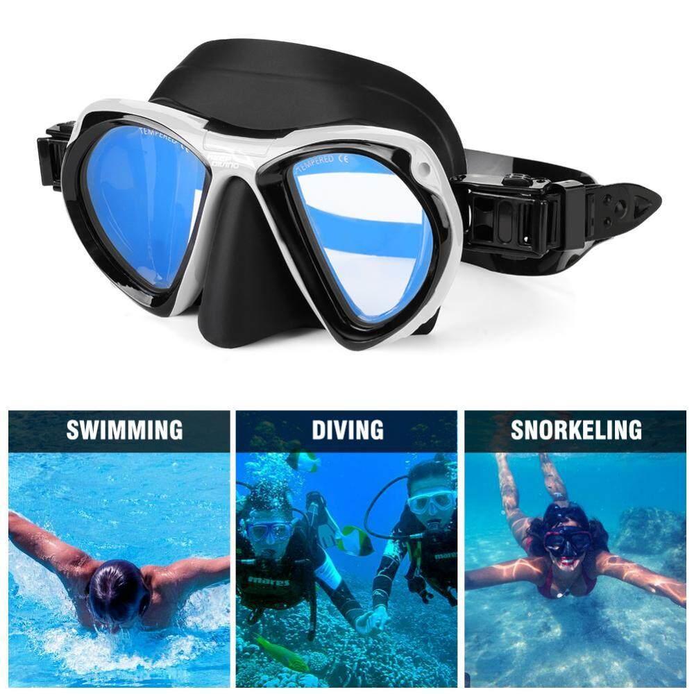 4 Warna Tetap Menyelam Portable Dewasa Masker Menyelang Dan Menyelam Dangkal Kacamata Kacamata Perlengkapan Bawah Air-Intl By Highfly.