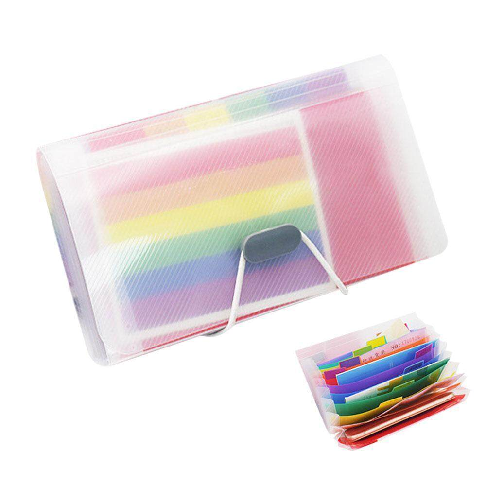 Mua leegoal Expanding File Folder Portable Rainbow Document Organiser Multicoloured Plastic Expandable Accordian Organizer Wallet Case Tab Organizer