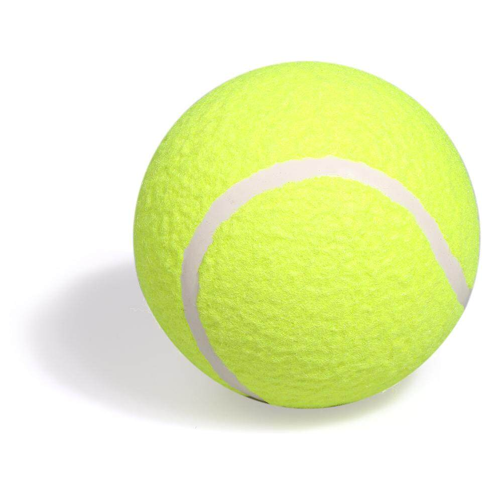 5 Inflatable Training Tennis Ball Indoor Outdoor Practice Ball For Children Adult Pet Fun - Intl By Tomtop.