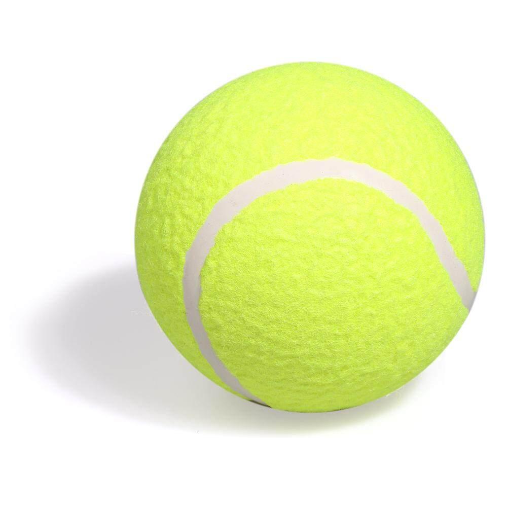 5 Inflatable Training Tennis Ball Indoor Outdoor Practice Ball For Children Adult Pet Fun - Intl By Tomtop.