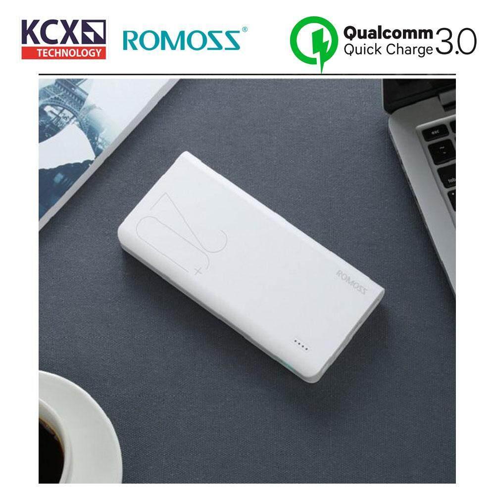 ROMOSS Sense 6+ 20000mAh QC3.0 Type-C Power Bank