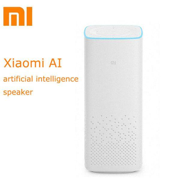 ยี่ห้อนี้ดีไหม  สุพรรณบุรี Original Xiaomi AI Smart Speaker Portable Bluetooth 4.1  Voice Remote Control Speaker 2.25 Inches Artificial Intelligent WiFi A2DP Music Player(White)