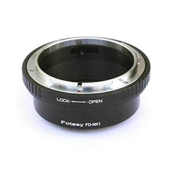 Fotasy Canon FD Lens to Nikon 1 Nirrorless Camera Adapter, fits V1 V2 V2 J1 J2 J3 J4 J5 AW1