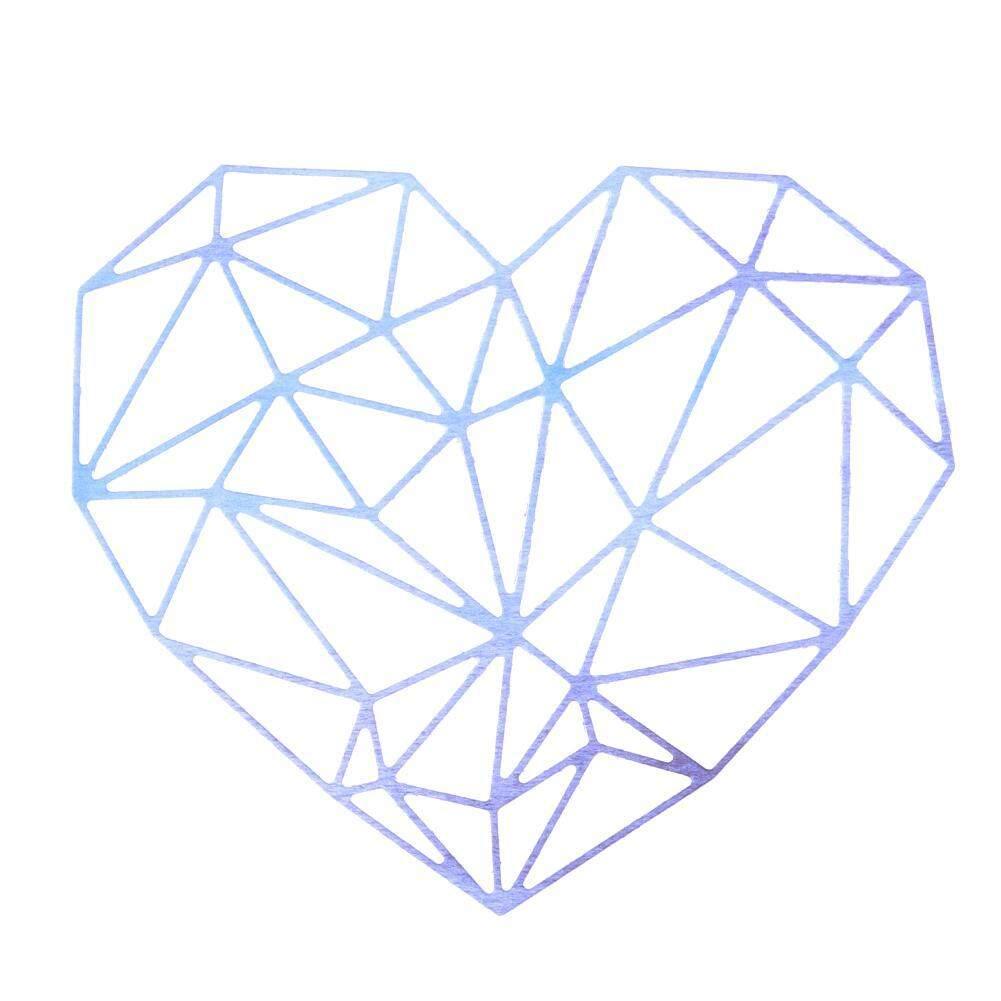 Detail Gambar 1Set Heart Metal Cutting Dies for Scrapbooking/Photo Album DIY Craft(Silver
