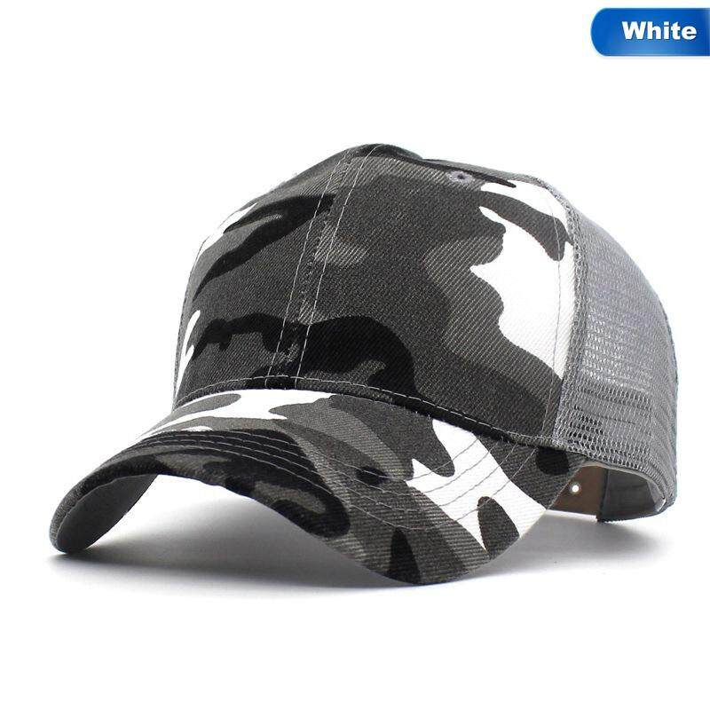 BZY Camo Baseball Caps Men Summer Mesh Cap Tactical Camouflage Hat For Men Women High Quality