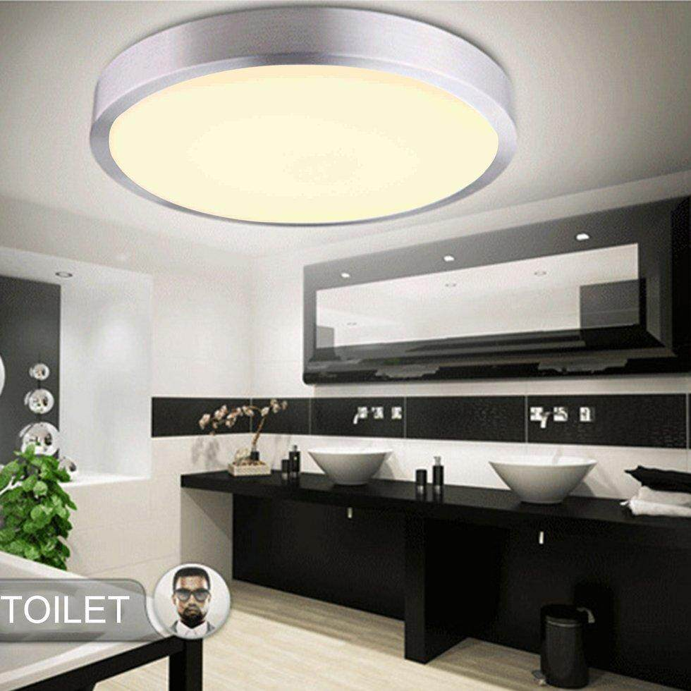 GOFT 12W Simple Design Round LED Ceiling Light Home Corridor Bedroom Light Lamp