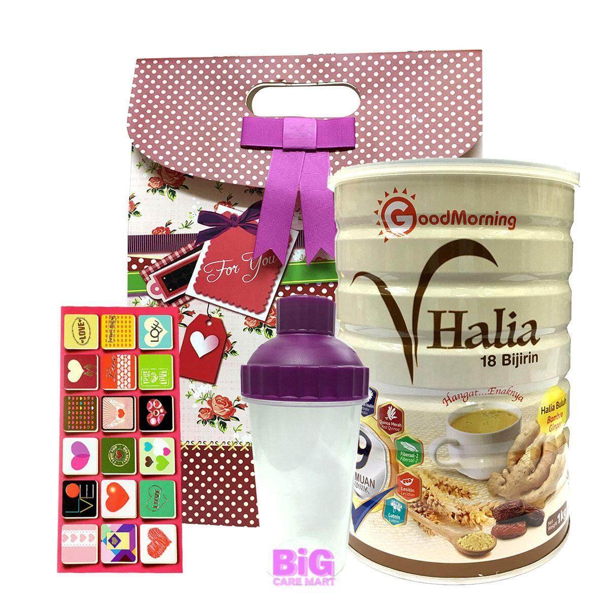 Mother's Day Good Morning Vhalia 1kg (Bag+Shaker+Card)