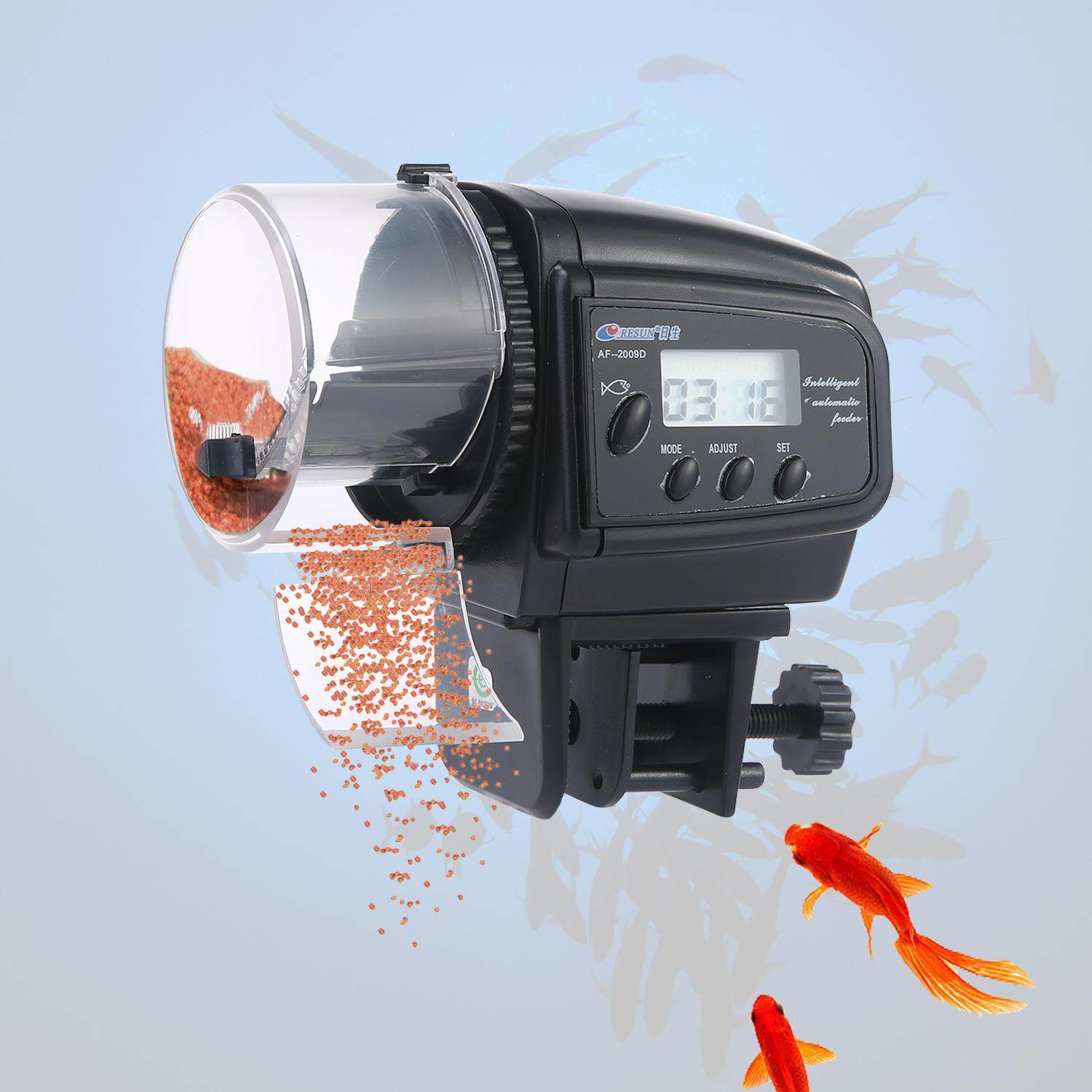 Aolvo Fish Feeder, Automatic Fish Feeder, Aquarium Tank Auto Fish Food Timer - Intl By Aolvo.