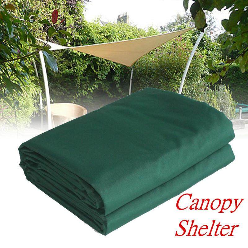 Outdoor Sun Shade Sail - Green Colour Triangle Square Rectangle Canopy 185gsm [2*5m]